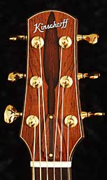 Madagascar Rosewood High Noon Tuning Head